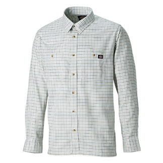 Dickies Tattersal Check Shirt (Blue)