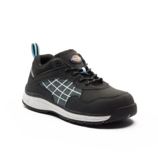 Dickies Elora Women's Safety Trainers (Black/Blue)