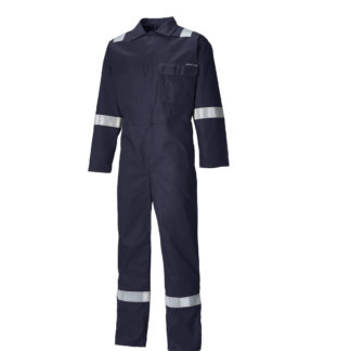 Dickies Everyday Flame Retardant Taped Coverall (Navy)