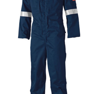 Dickies FR Lightweight Pyrovatex Coverall (Navy)