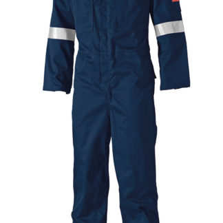 Dickies FR Pyrovatex Antistatic Coverall (Navy)