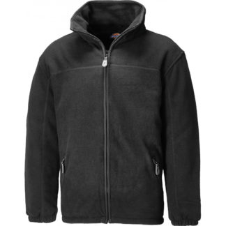 Dickies Padded Fleece Jacket (Black)