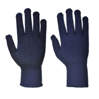 Thermal Liner Polka Dot Gloves