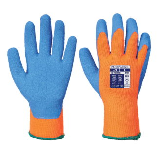 Cold Grip Gloves (Orange)