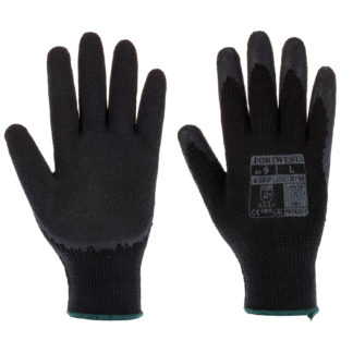 Fortis Grip Gloves (Black)