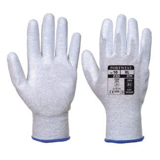 Antistatic PU Palm Gloves (Grey)