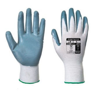 Flexo Grip Nitrile Gloves (Grey)