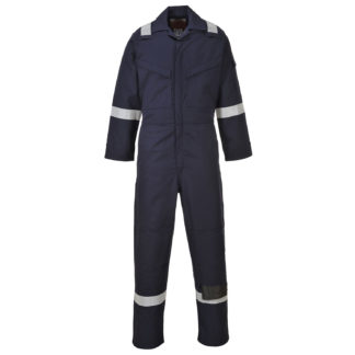 Araflame Gold Coverall (Navy)