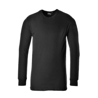 Thermal T-Shirt Long Sleeve (Black)