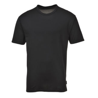 Thermal Baselayer Short Sleeve Top (Black)