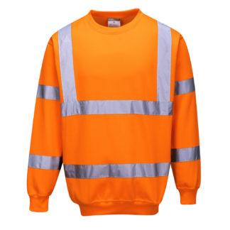Hi-Vis Sweatshirt (Orange)
