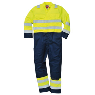 Hi-Vis Anti-Static Bizflame Pro Coverall