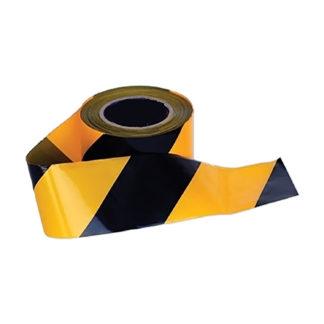 Barricade/Warning Tape (Black/Yellow)