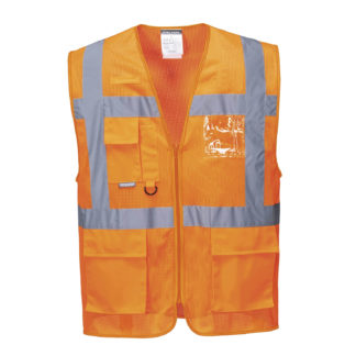 Athens MeshAir Executive Vest (Orange)