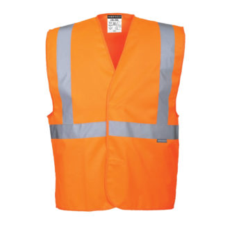 Hi-Vis One Band & Brace Vest (Orange)