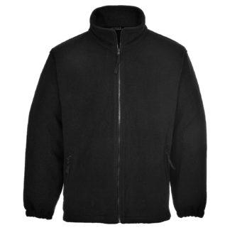 Aran Fleece Jacket (Black)