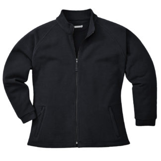 Aran Ladies Fleece (Black)