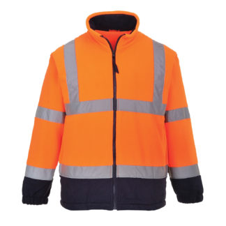 Hi-Vis Two Tone Fleece (Orange)