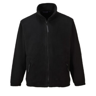 Argyll Heavy Fleece (Black)