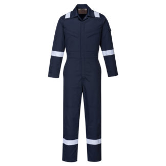Bizflame Plus Ladies Coverall 350g (Navy)