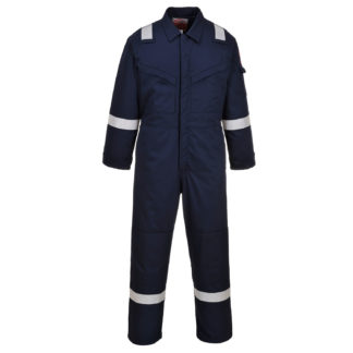 Padded Winter Anti-Static Coverall (Navy)