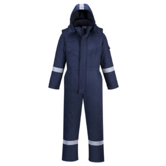 FR Anti-Static Winter Coverall (Navy)