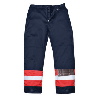 Bizflame Plus Trousers (Navy/Red)