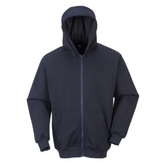 FR Zip Front Hooded Sweatshirt