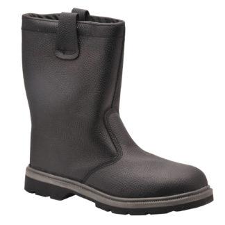 Steelite Rigger Boots S1P CI HRO (Black)