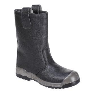 Steelite Rigger Boots S1P CI (With scuff cap) (Black)