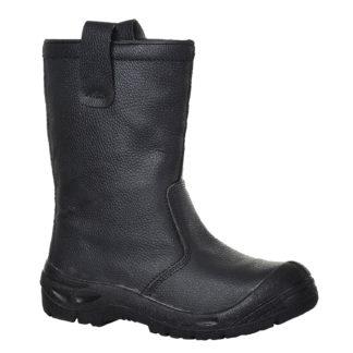 Steelite Rigger Boots Scuff Cap S3 CI (Black)