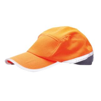 Hi-Vis Baseball Cap (Orange/Navy)