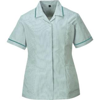 Ladies Striped Tunic (Aqua)