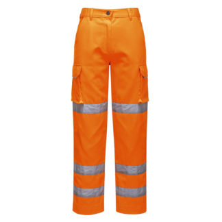 Ladies Hi-Vis Trousers (Orange)
