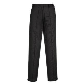 Ladies Elasticated Trousers (Black)
