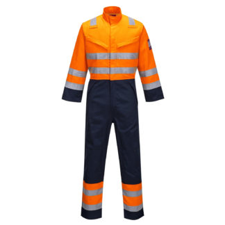 Modaflame RIS Navy/Orange Coverall