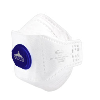 EAGLE FFP2 Valved Dolomite Fold Respirator