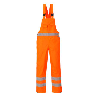 Hi-Vis Bib and Brace - Unlined (Orange)