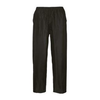 Classic Adult Rain Trousers (Black)