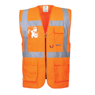 Berlin Executive Vest (Orange)