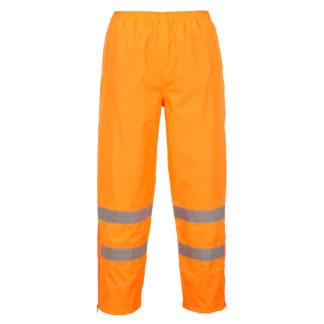 Hi-Vis Breathable Trousers (Orange)