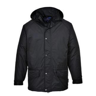 Arbroath Breathable Fleece Lined Jacket (Black)