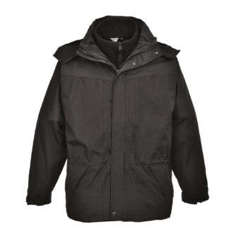 Aviemore 3 in 1 Mens Jacket (Black)