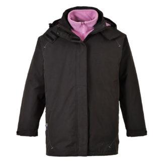 Elgin 3 in 1 Ladies Jacket (Black)