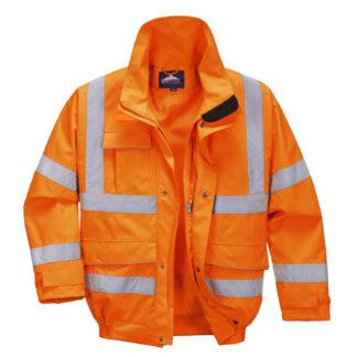 Extreme Bomber Jacket (Orange)