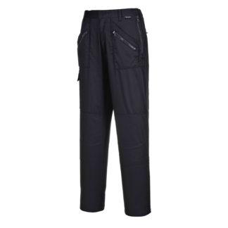 Ladies Action Trousers (Black)