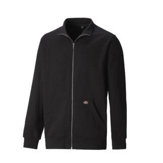 Dickies Edgewood Zipped Sweatshirt (Black)