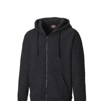 Dickies Redwood Zipped Hoodie (Black)