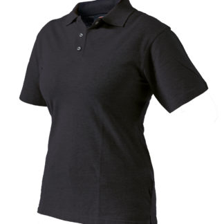 Dickies Womens Fitted Polo Shirt (Black)