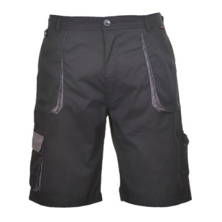 Portwest Texo Contrast Shorts (Black)